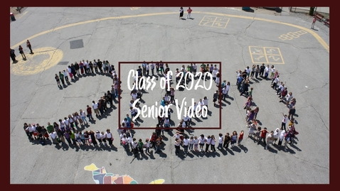 Thumbnail for entry NHS Class of 2020 senior video
