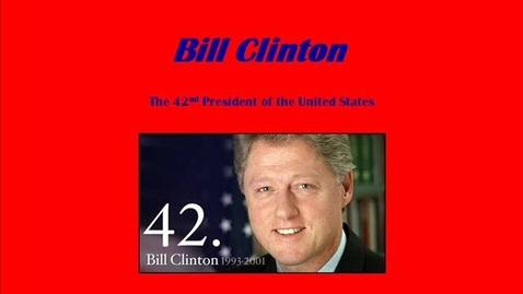 Thumbnail for entry Bill Clinton