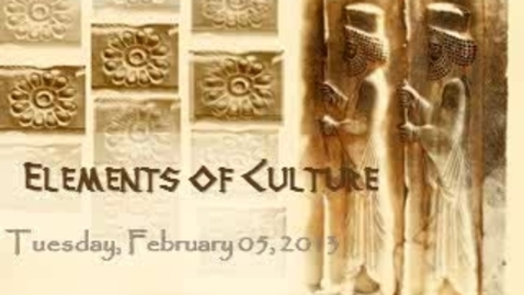 Thumbnail for entry 1.3 Elements of Culture