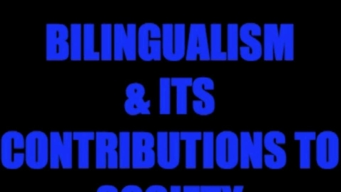 Thumbnail for entry Bilingual Success