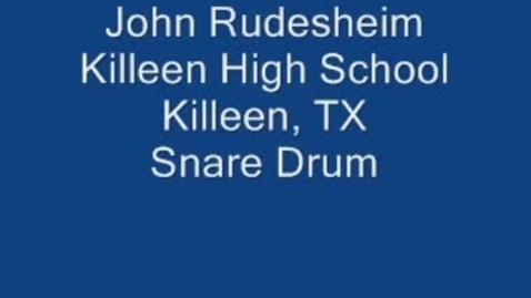 Thumbnail for entry John Rudesheim