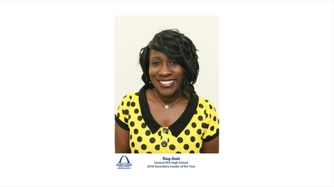 Thumbnail for entry Dr. Kacy Seals, Educator of the Year
