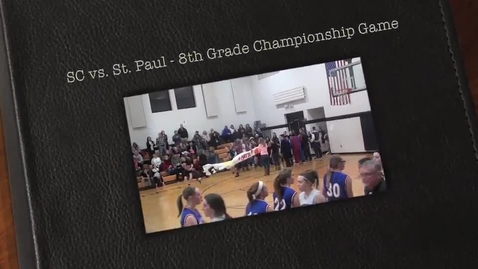 Thumbnail for entry SC 8th Grade Girls Championship Game 2014