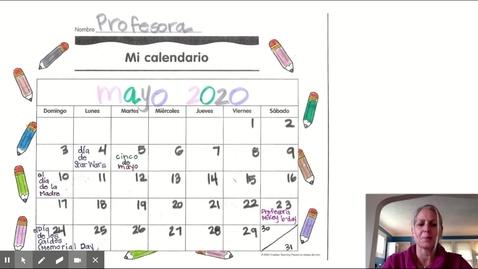 Thumbnail for entry El Clima Vocabulario - Google Slides