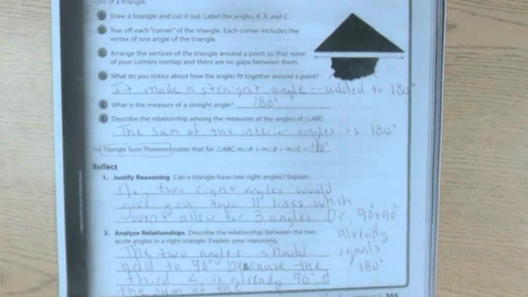 Thumbnail for entry 11.2b Angle Theorems for Triangles