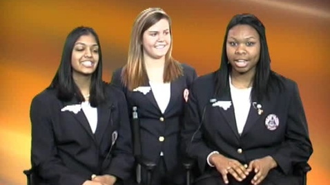 Thumbnail for entry HOSA North Carolina State Officers
