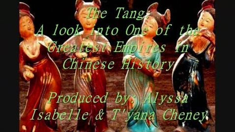 Thumbnail for entry The Tang Dynasty