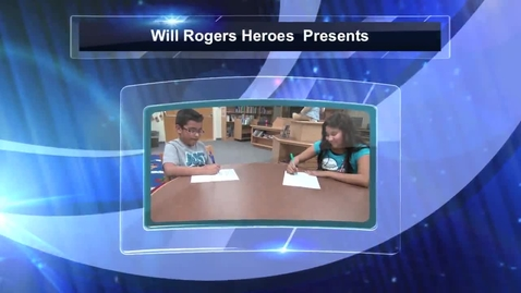 """Thumbnail for entry Will Rogers Heroes Presents """"Don't Cheat!!!"""""""