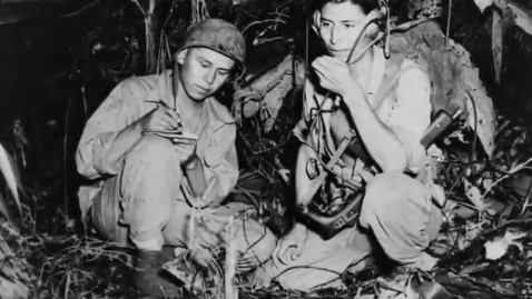 Thumbnail for entry The Navajo Code Talkers of World War II