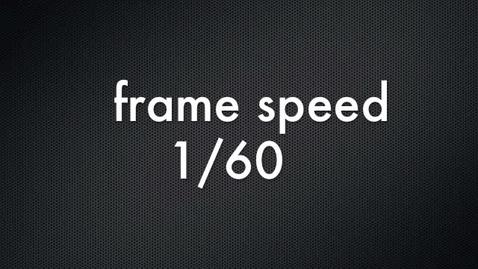 Thumbnail for entry Shutter Speed