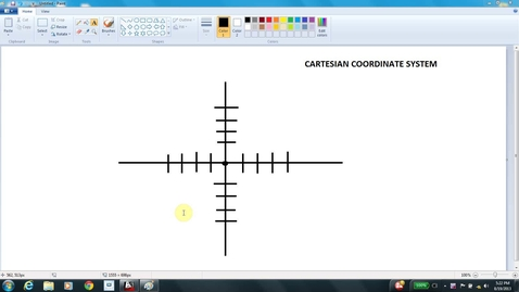 Thumbnail for entry AutoCAD LESSON 3B absolute coordinates