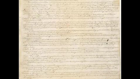 Thumbnail for entry United States Constitution Article 1 Section 1 & 3 Social Studies Middle School