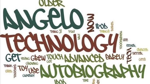 Thumbnail for entry Angelo's technology autobiography
