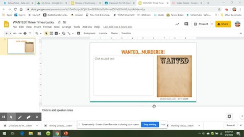 Thumbnail for entry Directions for Wanted Slide.webm