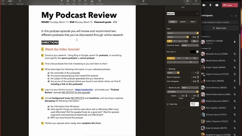 Thumbnail for entry How To Create your PODCAST REVIEW EPISODE