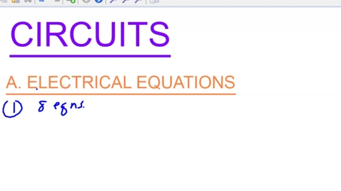 Thumbnail for entry Circuits