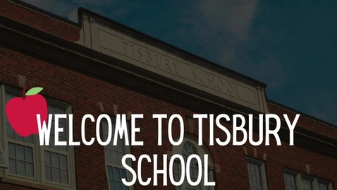 Thumbnail for entry Tisbury School Welcome to Kindergarten 2020