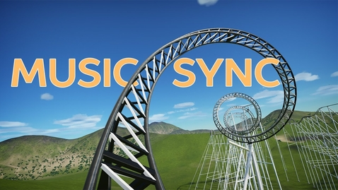 Thumbnail for entry Music Synchronized Roller Coaster (Front Seat POV)