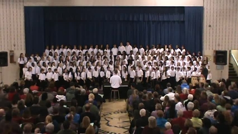 Thumbnail for entry He Lives In You - Catonsville Middle - 6/7 Chorus