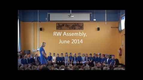 Thumbnail for entry RW Assembly June 2014
