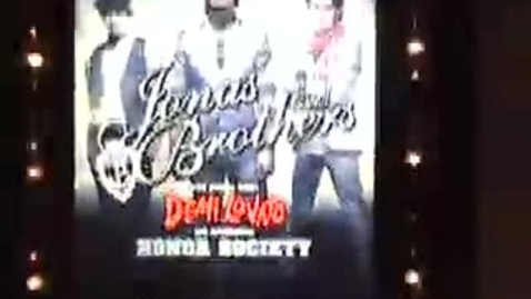 Thumbnail for entry Jonas Brothers Commercial