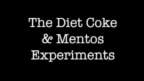 Thumbnail for entry coke and mentoes