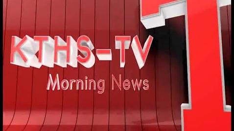 Thumbnail for entry KTHS-TV Morning News 2/13/14