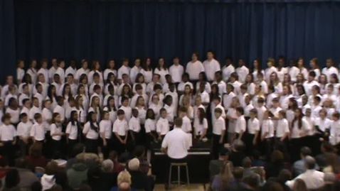 Thumbnail for entry Christmas in 3 Minutes - Catonsville Middle - 6/7 Chorus