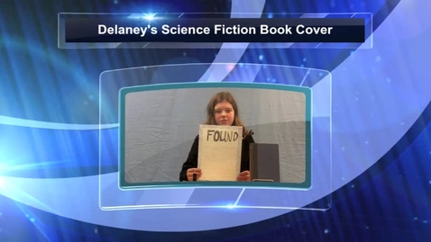Thumbnail for entry Delaney's Science Fiction Book Cover