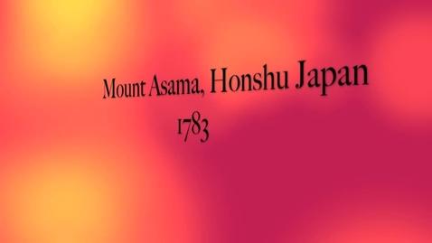 Thumbnail for entry Mount Asama