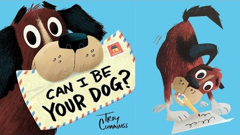 Thumbnail for entry Can I Be Your Dog  - kids books read aloud - reading childrens books aloud -reading kids book aloud