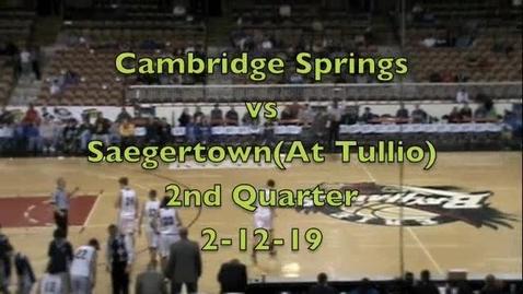 Thumbnail for entry Cambridge 2Q (Tullio)