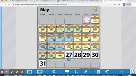 Thumbnail for entry May 27 Calendar