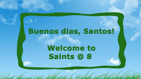 Thumbnail for entry 5-7-20 Saints @ 8