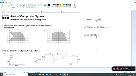 Thumbnail for entry 7th Grade - 4th Quarter Lesson 9-3 Video Lesson #5 for Tuesday 5/19/2020