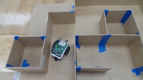 Thumbnail for entry Boe-Bot maze 2