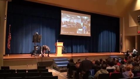 Thumbnail for entry 2015 Holocaust Survivor Assembly (Fran Malkin)