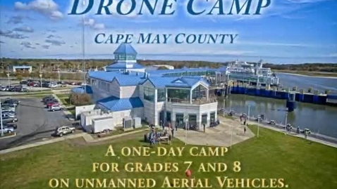 Thumbnail for entry Drone Camp 2015 - A one day camp for 7th & 8th grade students.