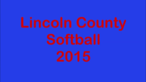 Thumbnail for entry Softball 2015