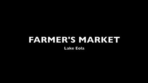 Thumbnail for entry Farmer's market photos