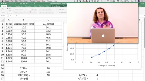 Thumbnail for entry Harnessing the Power of Spreadsheets in Physics