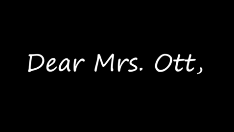 Thumbnail for entry Mrs. Ott's Retirement