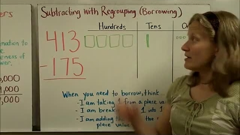 Thumbnail for entry Addition & Subtraction of Large Numbers Part 2
