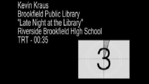 Thumbnail for entry Brookfield Public Library - Game Night
