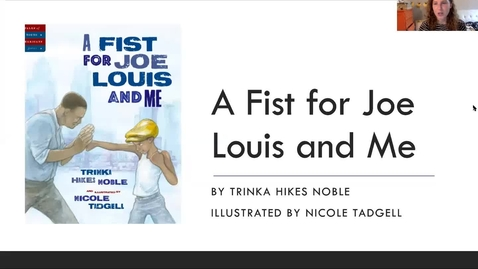 Thumbnail for entry A Fist for Joe Louis and Me -  Read Aloud