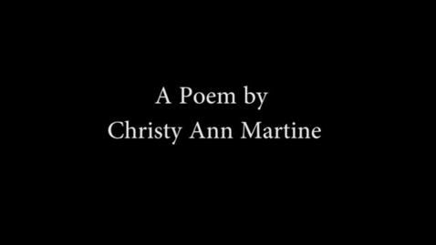 Thumbnail for entry Pacey Poem Interpretation