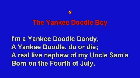 Thumbnail for entry The Yankee Doodle Boy
