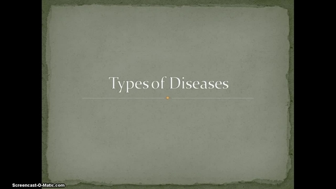 Thumbnail for entry Intro to Disease Flipped