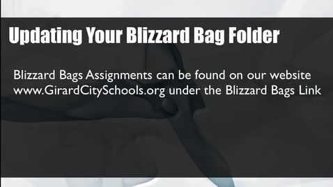 Thumbnail for entry Teacher Blizzard Bag Tutorial 2015