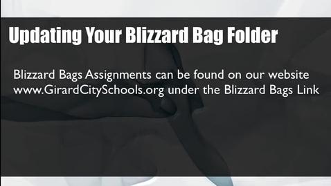 Thumbnail for entry Teacher Blizzard Bag Tutorial 2015